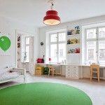 Unisex Modern Kids Bedroom Designs Ideas – Decorating Ideas - Home Decor Ideas and Tips Modern Kids Bedroom, Kids Bedroom Designs, Trendy Bedroom, Bedroom Ideas, Kid Spaces, Kids Decor, Girl Room, Decor Room, Bedroom Decor