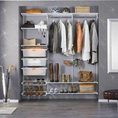 Förvaringssystem Elfa 14 Favorit - Paketlösningar garderob - Garderober & Förvaring