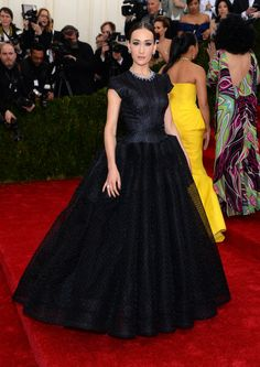 Maggie Q at the 'Charles James: Beyond Fashion' Costume Institute Gala at the Metropolitan Museum of Art 2014. Manicure by Alicia Torello.