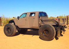 Design and fabrication of severe off-road vehicles for military and civilian use. Combination of Rock Crawlers and Sand Rails