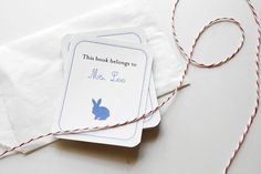 Download these free printable bookplates. | 23 DIYs To Try With Your Kids Before School Starts