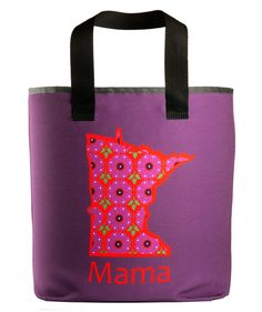 Enjoy our Minnesota mama grocery bag, made just for you. – Holds more than the standard size brown paper bag. Printed on both sides.