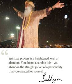 Apr 2020 - A collection of quotes and insights in to Sadhguru See more ideas about Quotes, Mystic quotes and Spiritual quotes. First Love Quotes, Great Quotes, Inspirational Quotes, Motivational, Spiritual Test, Spiritual Quotes, Mystic Quotes, Isha Yoga, Knowledge And Wisdom