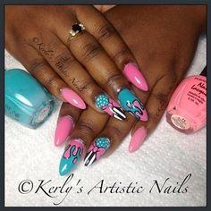 Little Bow Pink by KerlysNails - Nail Art Gallery nailartgallery.nailsmag.com by Nails Magazine www.nailsmag.com #nailart