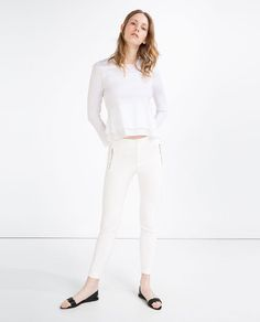taille 6 To 16 Blogger AVF Coast Jacquard Noir /& Métallisé Rose Pantalon