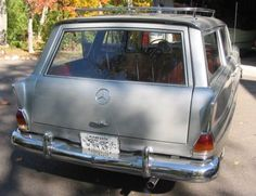 1967 Mercedes Benz 230 Station Wagon Fintail For Sale Rear