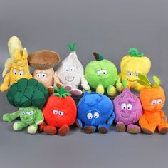 Find More Stuffed & Plush Plants Information about 2016 Cartoon Fruit Vegetable Plush toy Kawaii stuffed Doll Apple Banana Baby Toy Funny Hot Toy Stuffed Collectibles Doll Jouets,High Quality toy pink,China vegetable crusher Suppliers, Cheap toy heart from Kids1688 on Aliexpress.com