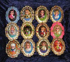 Kiddles Little Lockets Dolls; Totally fascinated with these little dolls. Kiddles Little Lockets Dolls; Totally fascinated with these little dolls. My Childhood Memories, Childhood Toys, Sweet Memories, 1970s Childhood, 1960s Toys, Retro Toys, Nostalgia, I Remember When, Ol Days