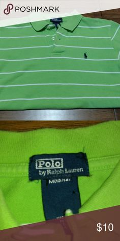 Polo Ralph Lauren boys shirt Size 12/14 gently used Polo by Ralph Lauren Shirts & Tops Polos
