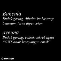 Dp Bbm Kata Kata Bahasa Sunda Lucu Quotes Indonesia Doa Jokes Thoughts