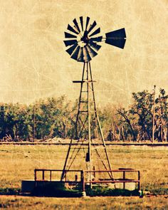 Country windmill
