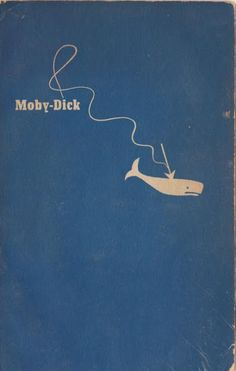 Moby-Dick. the original cover. (should Moby Dick be hyphenated?)