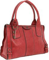 Fossil- Red Vintage Re-Issue Satchel