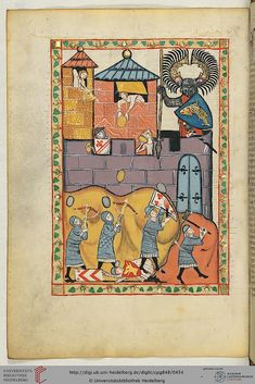 Codex Manesse - various devices