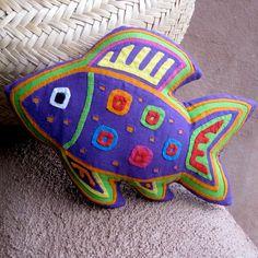 Fabulous Purple Mola Fish by molamama, $22.50