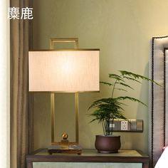 美式简约大理石底座设计师样板房台灯创意个性现代新中式床头灯 专注设计师 软装公司 样板房 高端简约灯具 国家强制3C检验标准生产