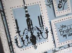 Jeweled chandelier