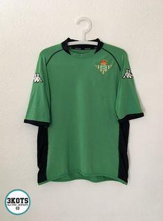 6f6fa890cf6 REAL BETIS 2002 04 AWAY FOOTBALL SHIRT XL Soccer Jersey KAPPA Vintage Maglia   Kappa