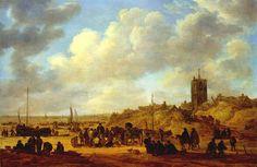 Jan Josephsz. van Goyen (1596 - 1656) - Scheveningen -