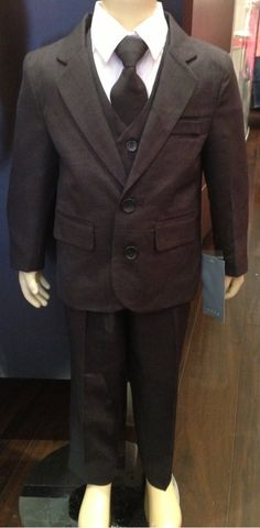 Sugar Plum Fairy Boutique - Sweet Kids 5 Piece Boys Suit , $56.00 (http://www.sugarplumfairyboca.com/sweet-kids-5-piece-boys-suit/) #boy #kid #suit