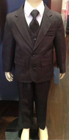 Sugar Plum Fairy Boutique - Sweet Kids 5 Piece Boys Suit , $56.00 (http://www.sugarplumfairyboca.com/sweet-kids-5-piece-boys-suit/) #boy #kid #suit