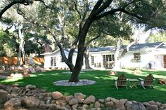 the Polished Pebble: Ojai Country House: Garden Design Elements