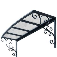 This question is from 6.5 ft. Providence Window/Door Awning (30 in. H x 27.6 in. D) in Aluminum/Polycarb/Silver/Clear