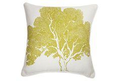 Beech 18x18 Pillow, Corn on OneKingsLane.com