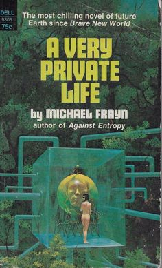 A Very Private Life, Michael Frayn, 1st Dell printing, 1969, Good Condition