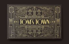 "Check out this @Behance project: ""Tom's Town Branding"" https://www.behance.net/gallery/40964805/Toms-Town-Branding"