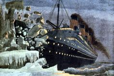 Titanic iconic illustration