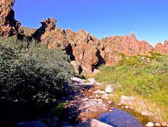 Dutchman's Trail crossing First Water Creek