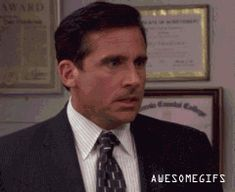 """Toby returns (""""Frame Toby"""") - One of my favorite scenes! This reminds me of when my mom would trick me and my sisters into visiting our most boring relatives. This GIF perfectly captures our reactions as soon as she'd take that left turn off the freeway..."""