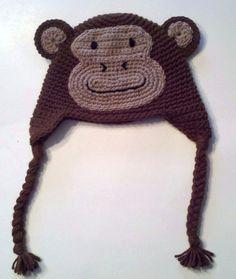 Custom-Made Monkhey Hat.
