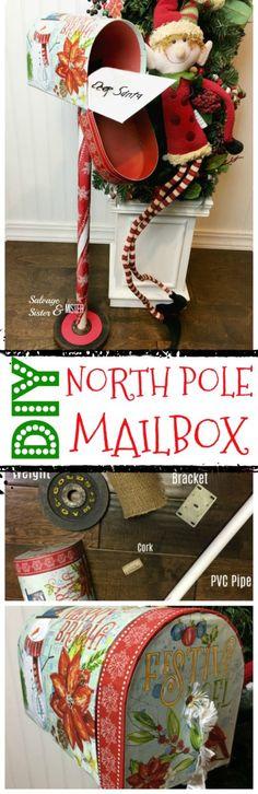 DIY North Pole Mailb