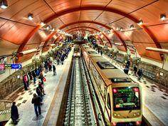 Serdika Metro station  by Ben Kovski on 500px