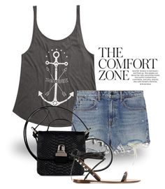 """Anchors ""Hope anchors the soul"" 2095"" by boxthoughts ❤ liked on Polyvore featuring Billabong, Alexander Wang and MM6 Maison Margiela"