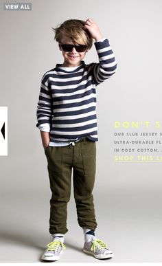JCrew (Crew Cuts), fun fall looks. Session attire, boys.