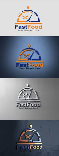 Fast Food Logo Design Template Food Logo Design, Logo Food, Logo Design Services, Free Logo Templates, Logo Design Template, Free Fast Food, Fast Food Logos, Great Logos, 3d Logo
