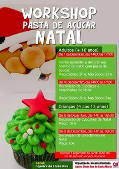 Workshop Pasta de Açúcar [Natal] « Notas « Santa Maria Açores