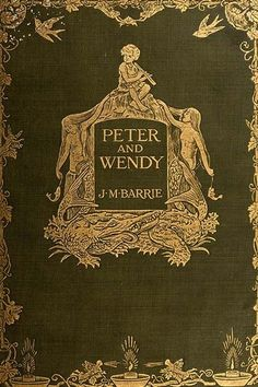 The 30 Darkest Books From Your Childhood #refinery29  http://www.refinery29.com/2015/11/97104/scary-childrens-books#slide-4  Peter and Wendy (1911)Author: J.M. BarrieIllustrator: F. D. Bedford Summary: Chances are you know the story, but here's a quick refresher just in case. A boy named Peter likes to visit the Darling family's house in Bloomsbury to listen to Mrs. Darling's bedtime stories. One night, he loses his shadow and wakes up Wendy Darling trying to ge...