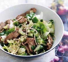 Five-spice Asian pork salad