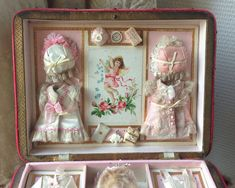 antique doll presentation