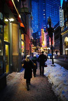 Boston, Mass., beautiful Boston Mass winter Wonderland!