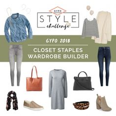 Closet Staples Casual Capsule Wardrobe Builder - Get Your Pretty On Next Fashion, Everyday Fashion, Fashion Blogs, Fashion Styles, Fall Fashion, Latest Fashion, Classic Outfits, Casual Outfits, Fall Outfits