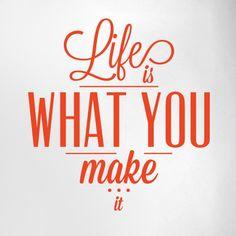 Life Is What U Make It Pdf