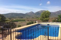 fenced swimming pool jalon property sapin