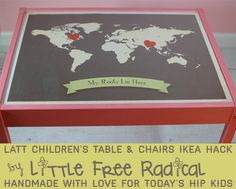 IKEA children's table & chairs set
