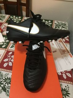 8d8d802986e nike tiemposize 10 soccer cleat men black vg  fashion  clothing  shoes   accessories