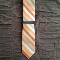 Perry Ellis Arden Stripe Tie for the groomsmen, dads and gramps.
